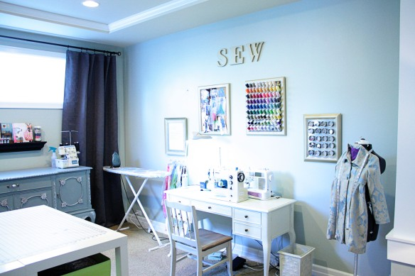 Would you like a tour of my sewing room?