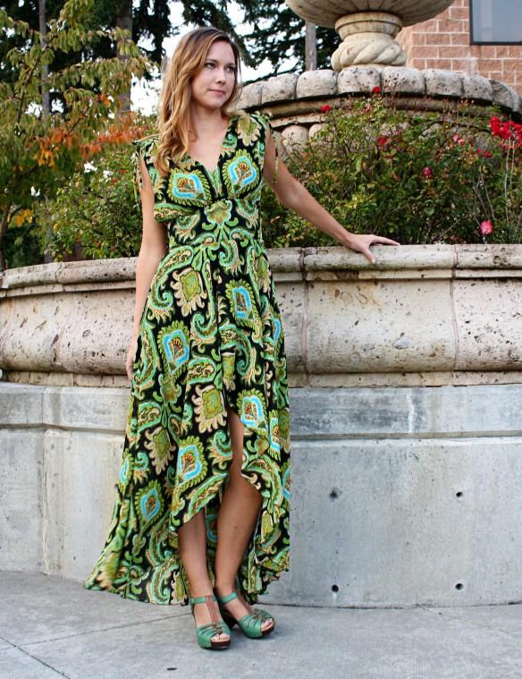 peacock dress1