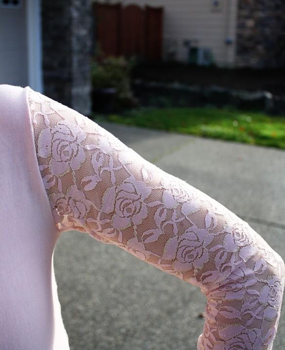 Jalie 2921 lace sleeve