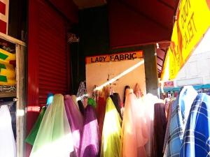 lady fabric