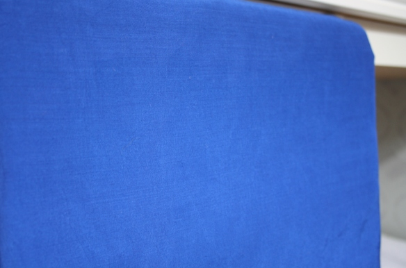 royal blue rayon