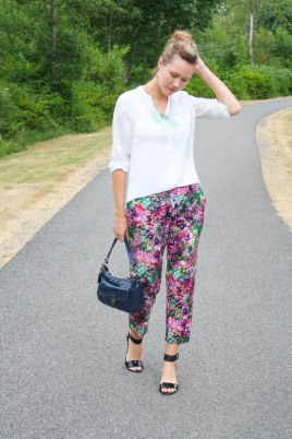 Papercut Anima Pants in floral