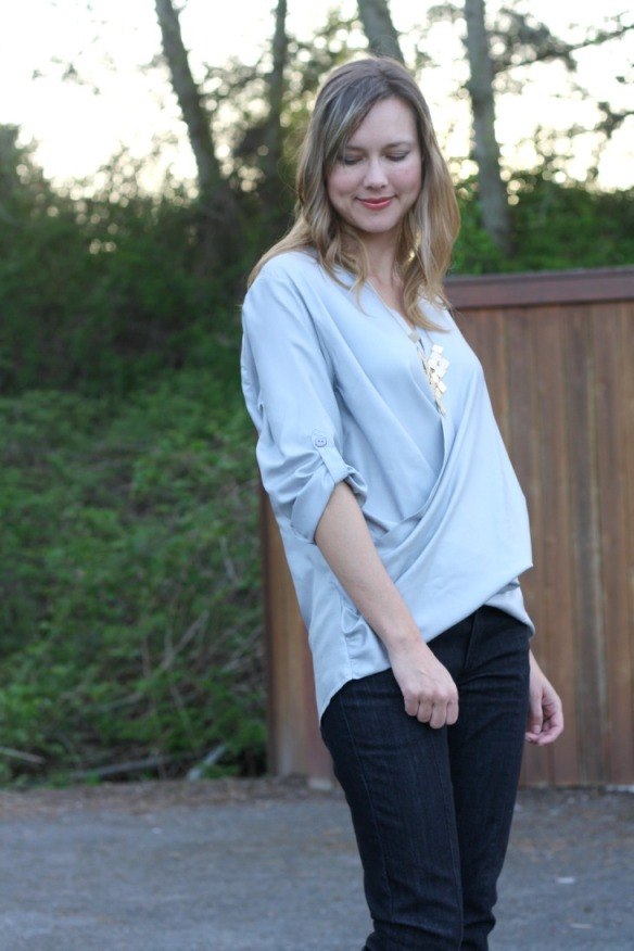 McCall's 6991 blouse d