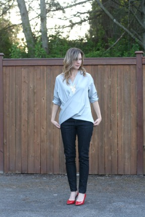 McCall's blouse 6991 a