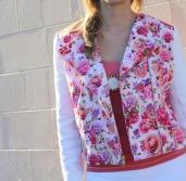 Floral Butterick 6169 jacket