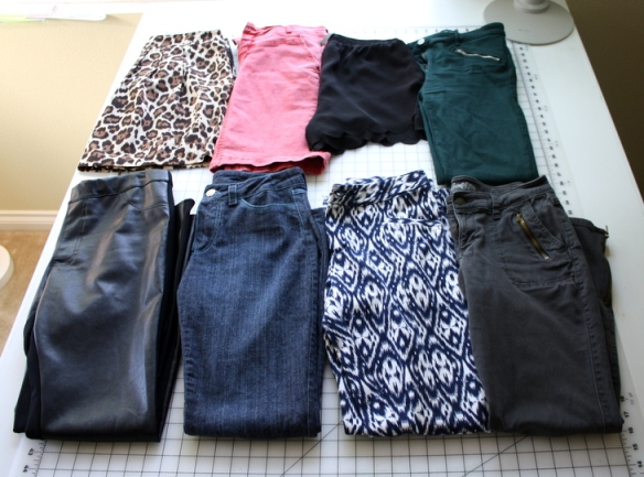 Hnadmade Capsule wardrobe bottoms