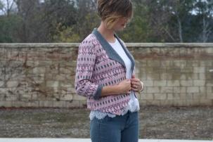 Morris blazer in stretch knit