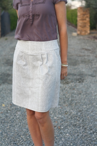 Simplicity skirt from front