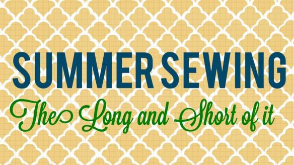 Summer Sewing blog tour